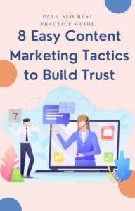 Easy content marketing tactics eBook cover